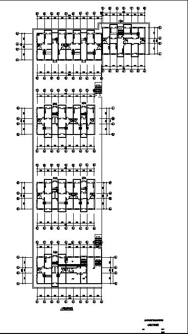 某综合性住宅弱电系统设计施工cad图纸-图二