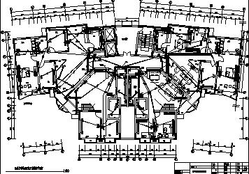 某最新经典高层住宅强弱电系统设计施工cad图纸-图一
