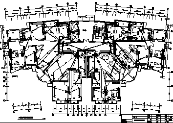 某最新经典高层住宅强弱电系统设计施工cad图纸-图二