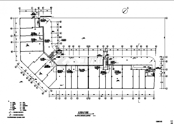 成都某住宅小区电气弱电系统设计施工cad图纸-图二