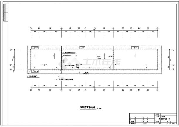 某多层一中学学校电气图纸13张图纸-图一