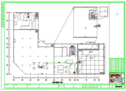 [宁波]某电子厂厂房给排水消防设计cad竣工图-图一