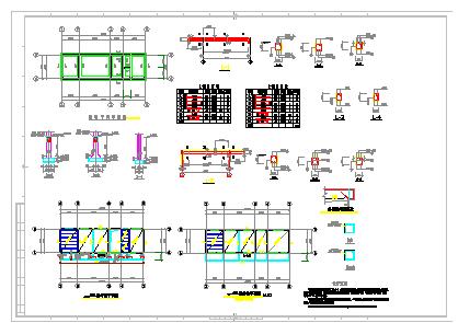 某礦井水回用及生活污水處理工程cad設計圖-圖一