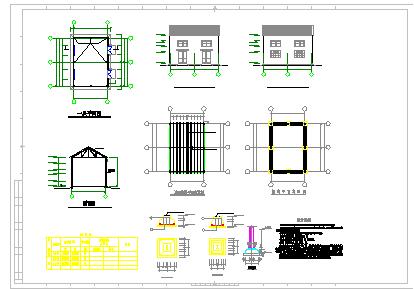 某礦井水回用及生活污水處理工程cad設計圖-圖二