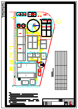 某肉类食品废水处理工艺cad设计施工图纸-图二