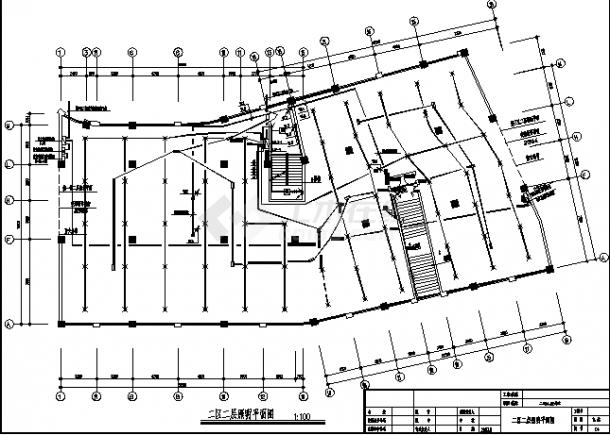 石家庄某多层住宅强弱电系统设计施工cad图纸-图一