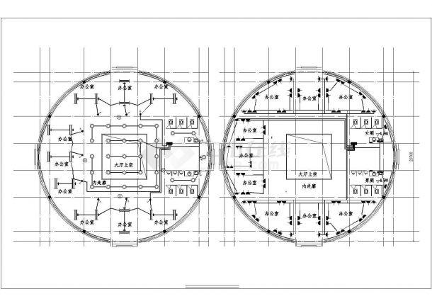 某有限公司办公楼电气设计图-图一