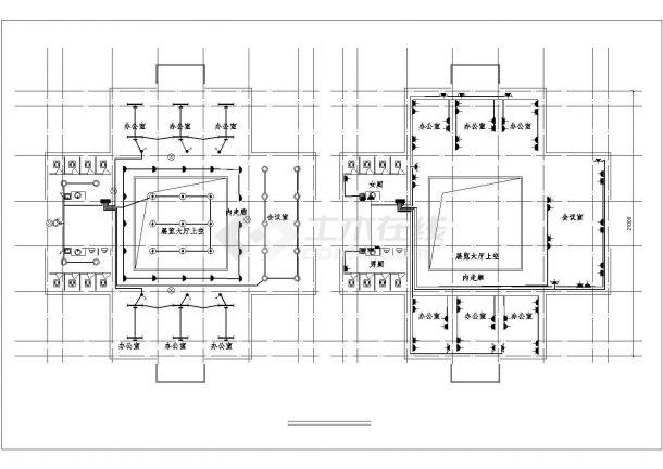 某有限公司办公楼电气设计图-图二