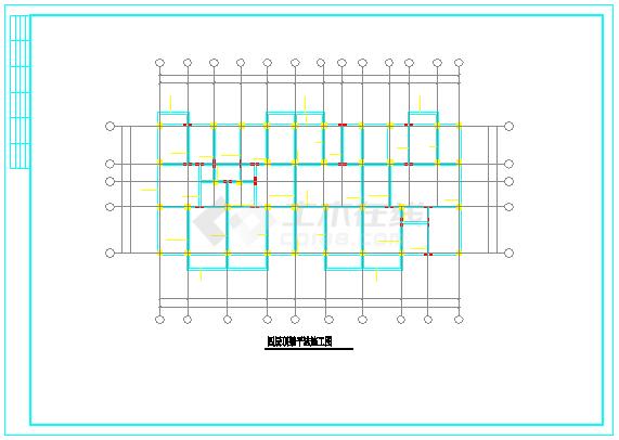 2546平五层全套住宅楼设计cad图(含计算书,建筑图,结构图)-图一