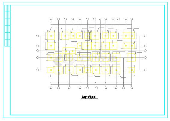 2546平五层全套住宅楼设计cad图(含计算书,建筑图,结构图)-图二