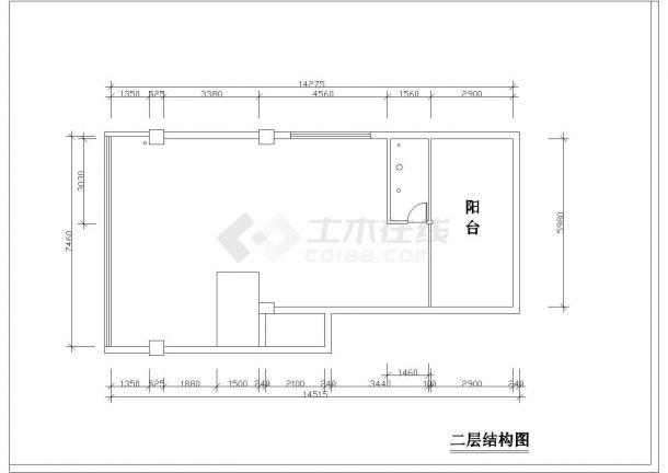 4室复式住宅全套装修施工图-图一