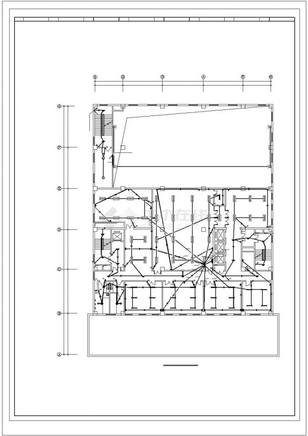 详图设计_高层宾馆电气设计图纸-图一