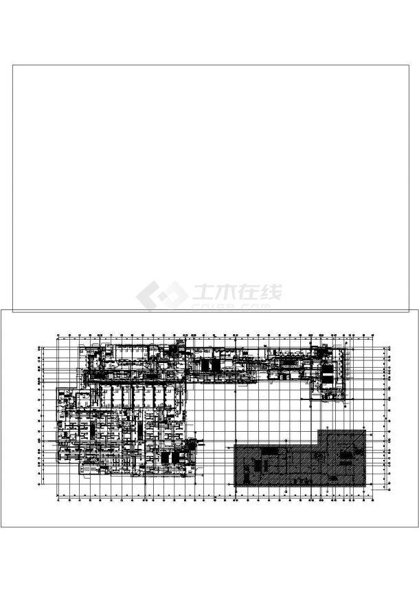某多层大型商业楼空调通风及防排烟系统毕业设计CAD资料-图二