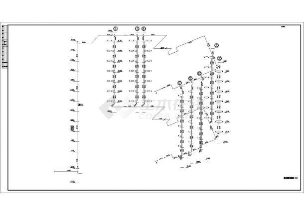 某高层综合楼采暖通风及防排烟系统毕业设计CAD资料-图一