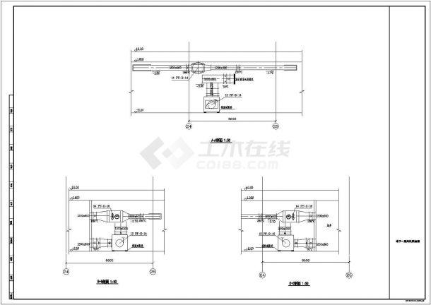 某高层商业综合楼空调通风及防排烟系统毕业设计CAD资料-图一