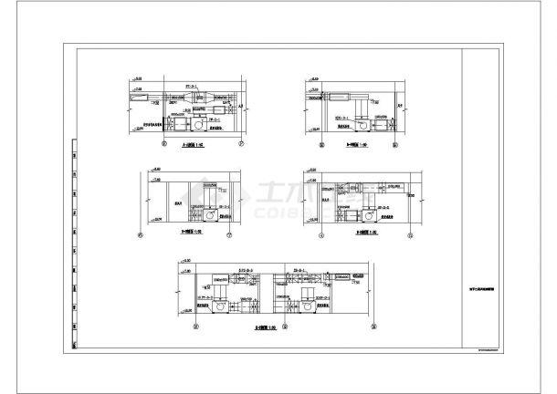 某高层商业综合楼空调通风及防排烟系统毕业设计CAD资料-图二