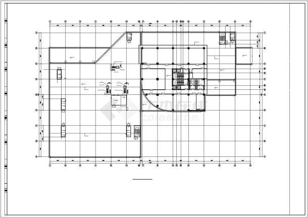 某商业综合体空调通风及防排烟系统毕业设计CAD资料-图一