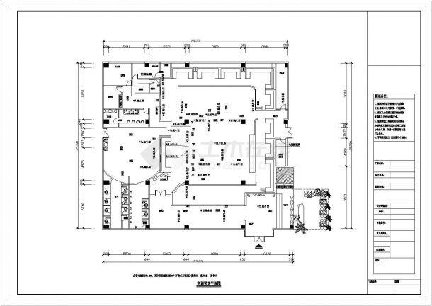 某商业办公楼空调通风及防排烟系统毕业设计CAD资料-图一