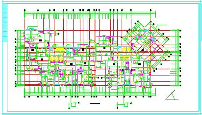 [郑州]某大型小区住宅楼设计全套cad施工图纸-图一