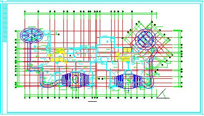 [郑州]某大型小区住宅楼设计全套cad施工图纸-图二