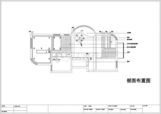 黑白经典风格住宅全套装修施工图-图二