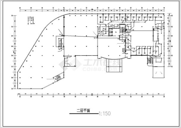 某宾馆电气全套CAD设计图纸-图一