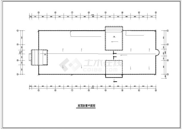 某宾馆电气全套CAD设计图纸-图二