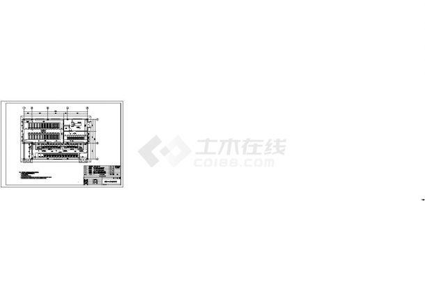 设备控制器_电控楼电气设备布置图-图一