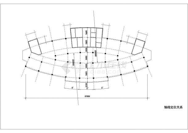 医院住院楼建筑方案设计图-图一