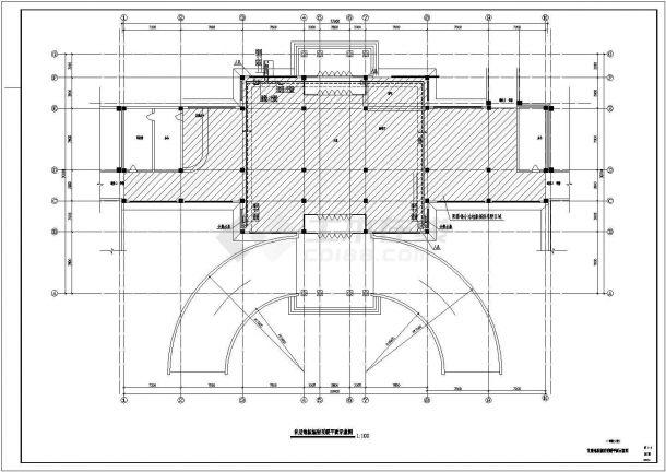 江阴市某大型商业综合体暖通空调系统及动力站设计施工CAD图纸-图一
