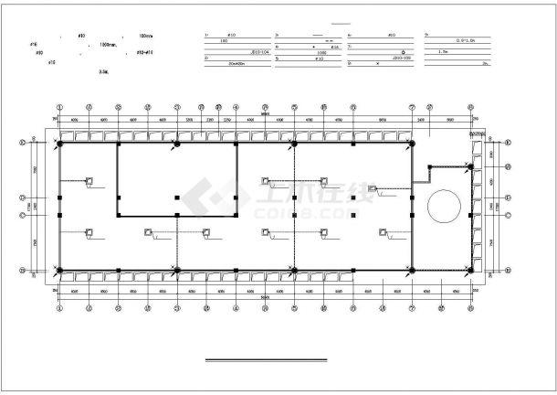 综合酒店电气设计图纸-图二