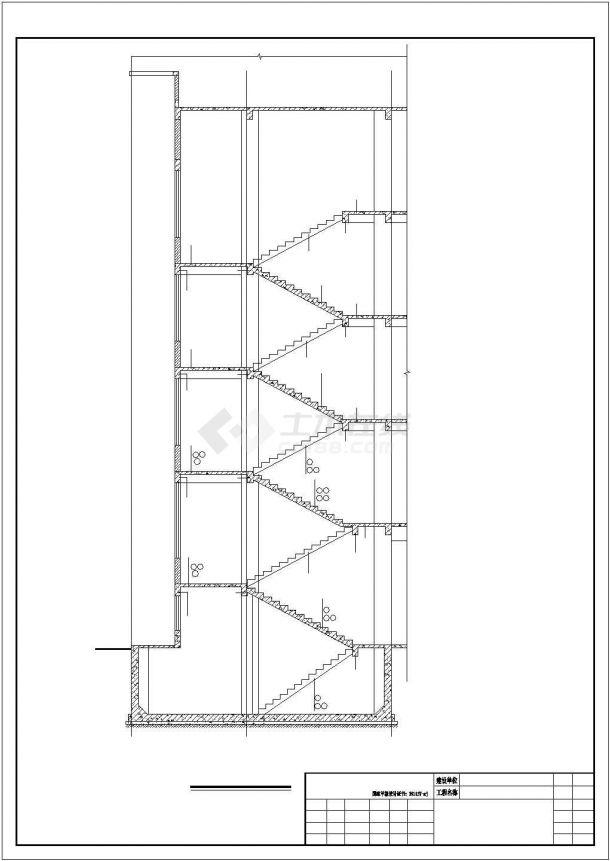 某小学综合楼建安工程毕业设计CAD资料(含结构计算书、结构图纸)-图二
