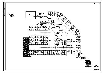 某十五层带地下一层综合楼采暖通风及防排烟系统设计cad图纸-图一