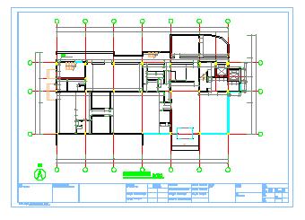 某宾馆室内装饰改造工程施工图-图一