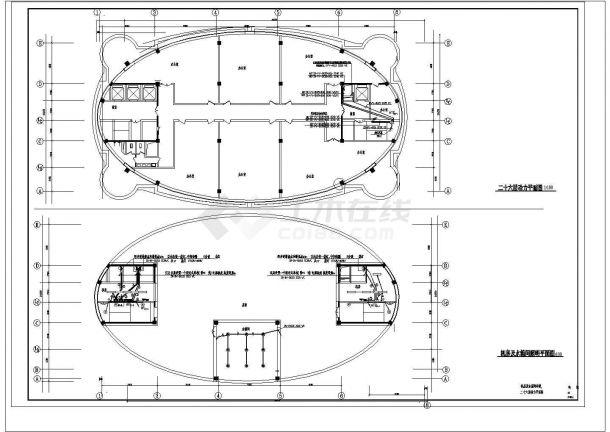 某省办公楼电气设备设计图-图二