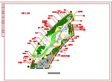 上海某会所屋顶景观绿化平面图(方格网定位图 景观绿化竖向设计图 )-图一