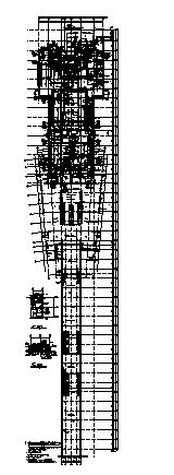 商场设计_某超市地下一层商场建筑空调通风及防排烟系统设计cad图纸-图一