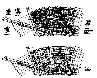 商场设计_某超市地下一层商场建筑空调通风及防排烟系统设计cad图纸-图二
