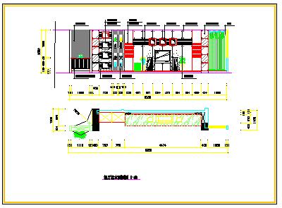 某复式套房室内装修方案cad设计图-图一