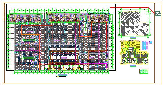 天心和田公园安置区--地下室给排水施工图-图二