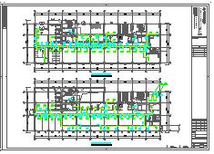 [施工图][安徽]高层人民医院空调通风及防排烟系统(机房设计,大院出品)-图一