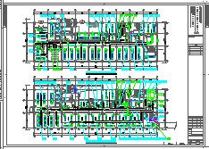 [施工图][安徽]高层人民医院空调通风及防排烟系统(机房设计,大院出品)-图二