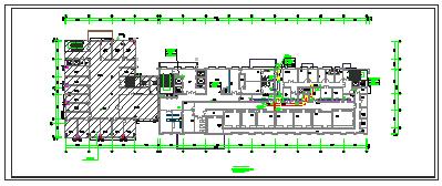 [施工图][安徽]高层医疗保健综合建筑空调通风及防排烟系统设计施工图 (1)-图一