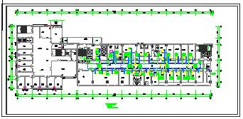 [施工图][安徽]高层医疗保健综合建筑空调通风及防排烟系统设计施工图 (1)-图二