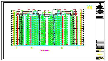 深圳凯丰花园别墅建筑设计施工图纸-图二