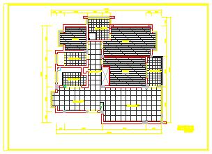 某集团宿舍室内装饰平面设计cad施工图-图一