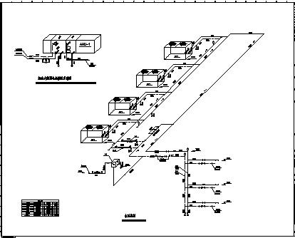 某三层厂房暖通安装大样设计cad图_厂房暖通施工-图二