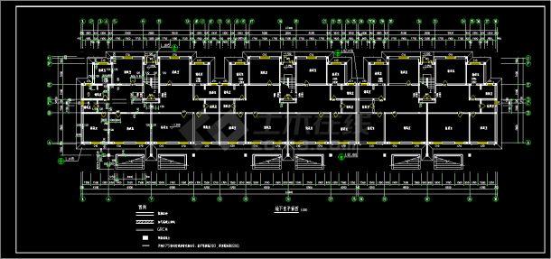 山东某5层带阁楼砌体结构住宅楼建筑设计全套施工图-图一