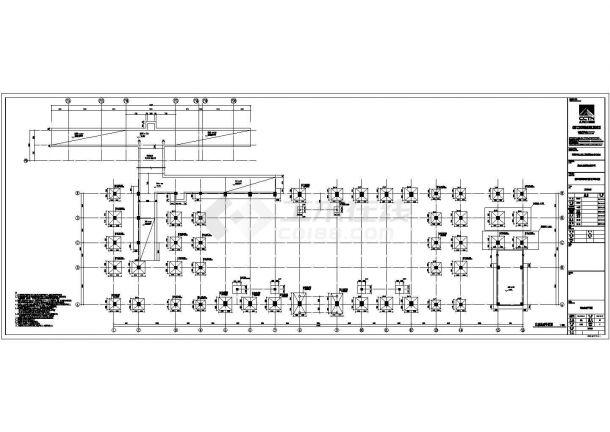 昌南北站初步设计CAD大样构造节点图-图二