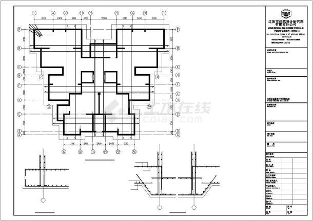 江苏省宿迁市宿豫区南部安置房回迁项目建筑工地施工CAD图纸-图一